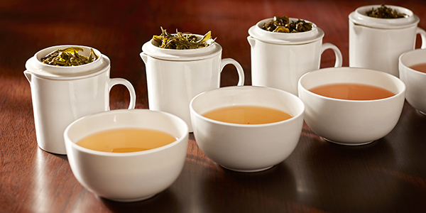 selection of oolong teas