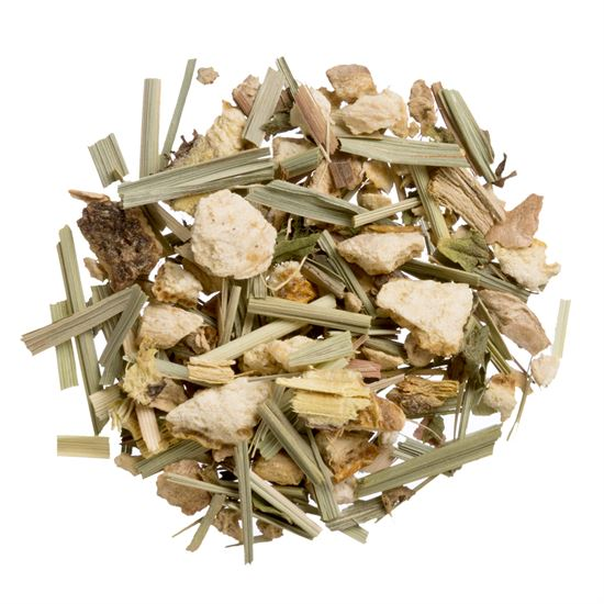 Lemon Ginger organic loose leaf herbal tea