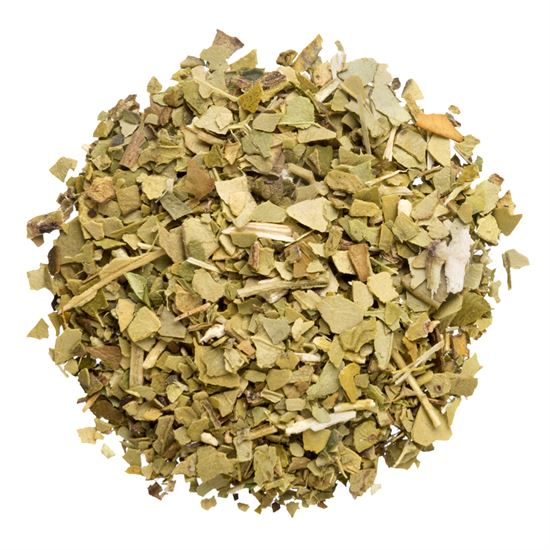 Green Yerba Mate loose leaf herbal tea