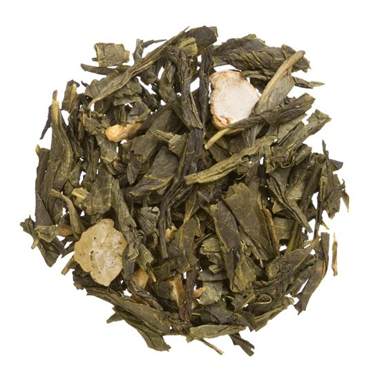 Ginger Ginseng loose leaf green tea