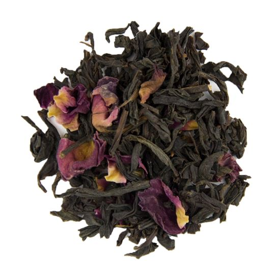 Rose loose leaf black tea
