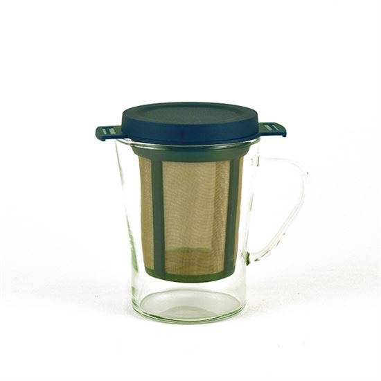 Finum Tea Glass and Filter (Style 2)