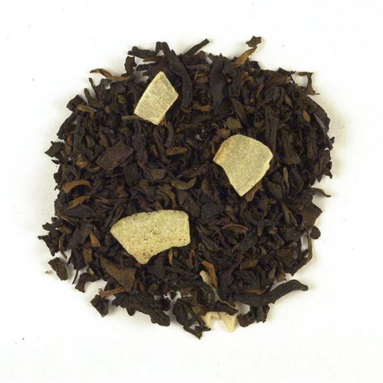 Naturally Flavored Pu-erh with Coconut Pieces