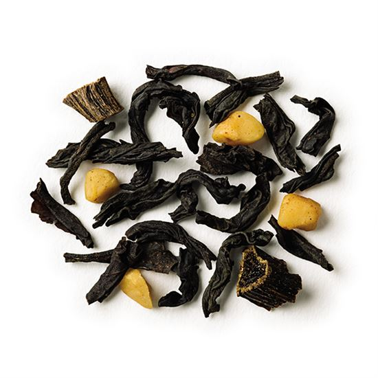 Almond Vanilla loose leaf black tea