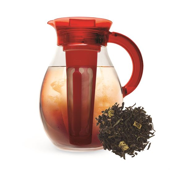 Iced Tea Pitcher and Peach Black Tea Set