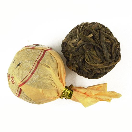 China Pu-Erh Sheng Cha Dragon Pearl